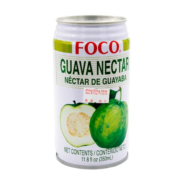 Guavennektar, FOCO, 350ml