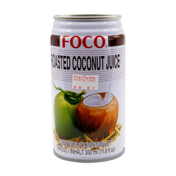 Roasted Coconut Juice, FOCO, 350ml