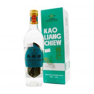 Kao Liang Chiew, chinesische Getreide-Spirituose 54%vol, Golden Star, 500ml