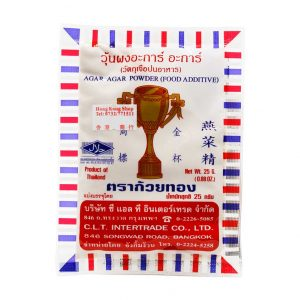 Agar-Agar Pulver, GOLDEN CUP IMPORT, 25g