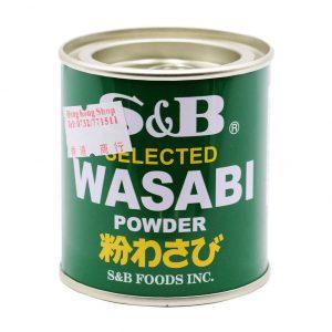 Wasabipulver, S & B, 30g