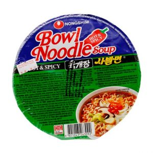 Bowl Nudelsuppe Hot & Spicy, Nong Shim, 86g