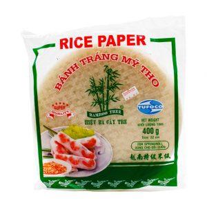 Reispapier für Sommerrollen (nicht zum Frittieren), Bamboo Tree, 400g