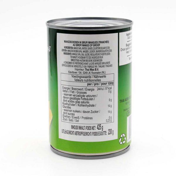 Mangospalten in Sirup, AROY-D, 425 g