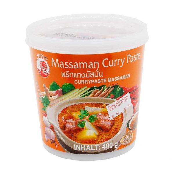 Currypaste Massaman, Cock Brand, 400g