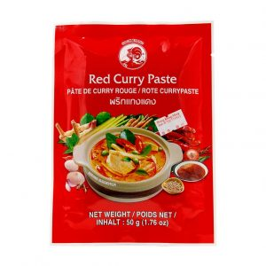 Red Curry (Kaang Daeng), Cock Brand, 50g