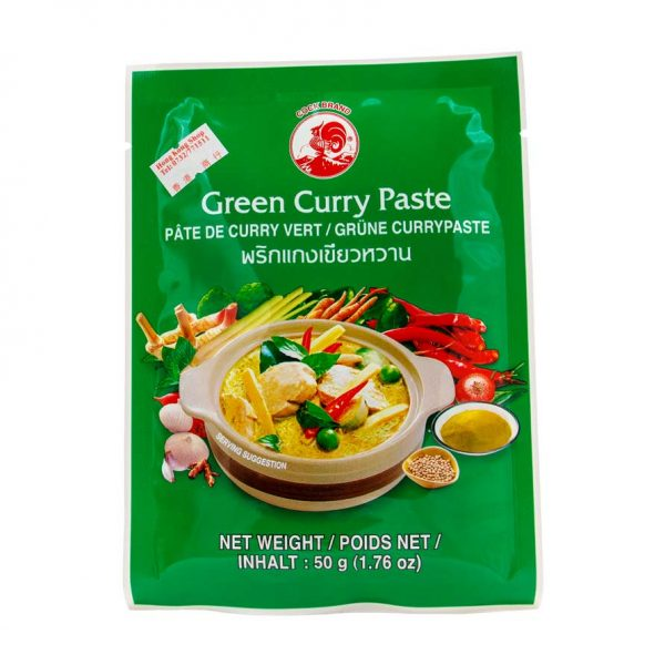 Green Curry (Kaang Kiew Wan), Cock Brand, 50g