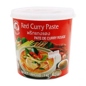 Curry Paste Rot, Cock Brand, 1 kg