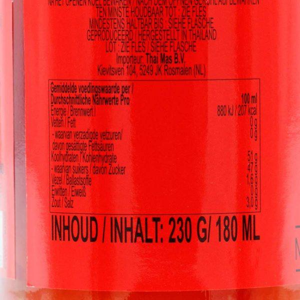 Sweet Chili, Cock Brand, 180ml