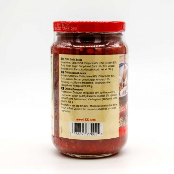 Chili Garlic Sauce, Lee Kum Kee, 368g 蒜蓉辣椒酱