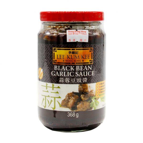 Black Bean Garlic Sauce, Lee Kum Kee, 368g 蒜蓉豆鼓酱