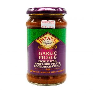 Knoblauch Pickles, Patak's, 300g