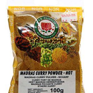 Madras Currypulver scharf 100 g