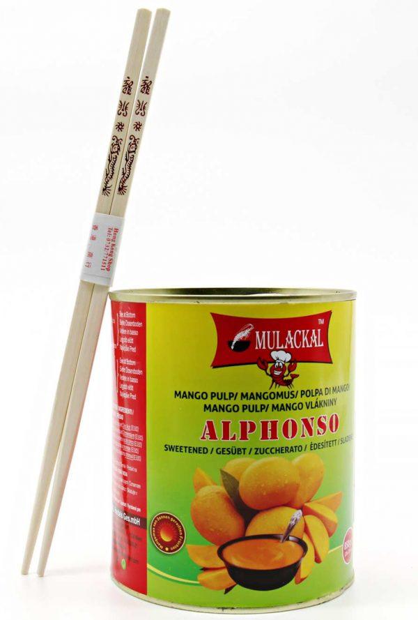 Mulaskal Alphonso Mango Pulp 850g