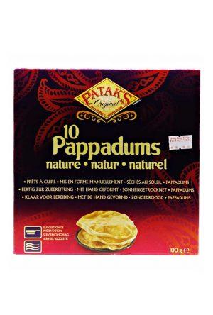 Patak's Pappadums 100 g (10 Stück)