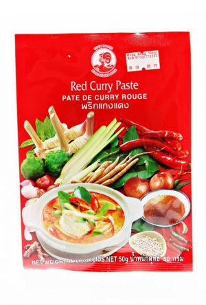 Cock Brand Red Curry (Kaang Daeng) 50g