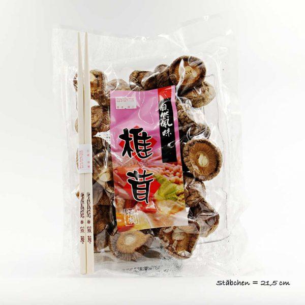 Shiitake Pilze getrocknet 100g