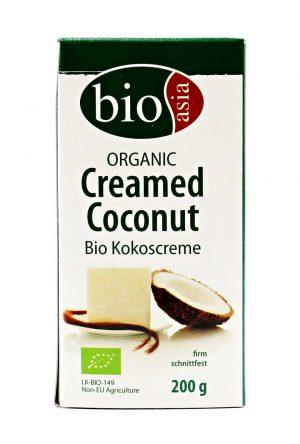 Bio Kokoscreme, schnittfest, Bio Asia, 200g
