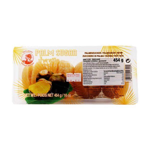 Palmzucker in Scheibe, Cock Brand, 454 g