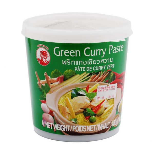 Currypaste grün, Cock Brand, 400g