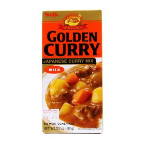 Golden Curry Mild S&B 92g