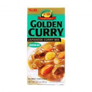 Golden Curry Medium Hot S&B 92g