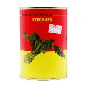 eingelegte Senfknollen, Szechuen, 340g