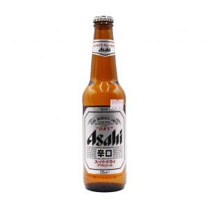 Bier 5,2% Vol, Asahi Super Dry, 330ml