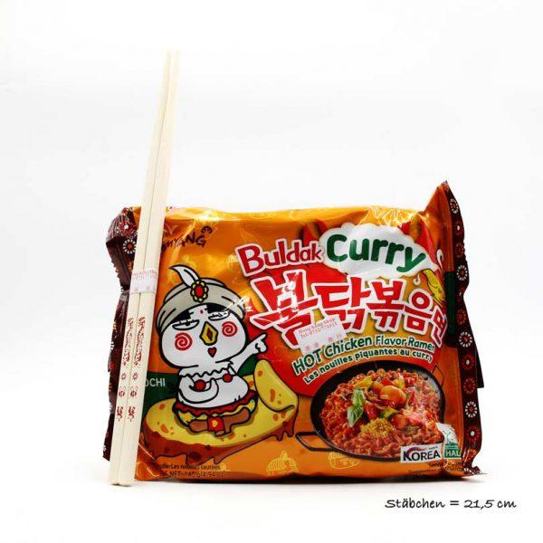 Scharfes Hühnchen-Geschmack Ramen (Curry), Samayang, 140g
