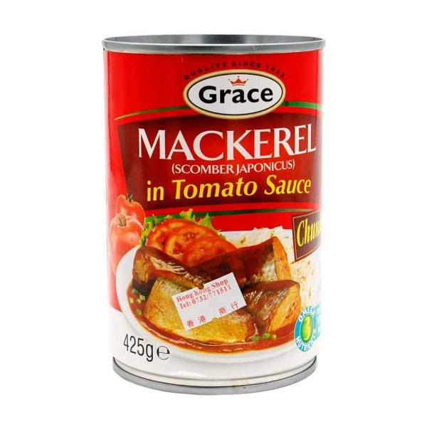 Mackerel in Tomato Sauce, Grace, 425g