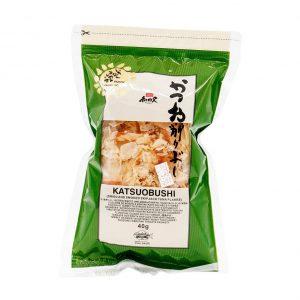 Katsuobushi getrocknete & geräucherte Tuna Flakes, Wadakyu, 40g