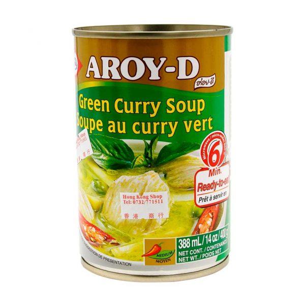 Curry Suppe grün, Aroy-D, 400g