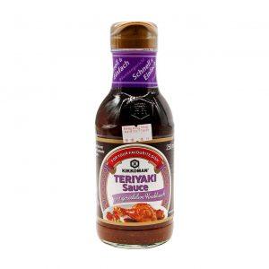 Teriyaki Sauce mit geröstetem Knoblauch, Kikkoman, 250ml