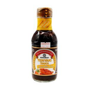 Teriyaki Sauce mit geröstetem Sesam, Kikkoman, 250ml