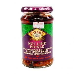 Scharfes Limetten-Pickle, Patak's, 283g