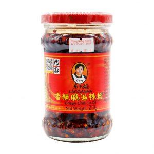Crispy Chilli in Öl, Lao Gan Ma, 210g