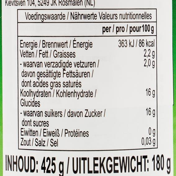Kokosfruchtfleisch in Sirup, AROY-D, 425g